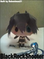 Chibi Black Rock Shooter Papercraft Finished by rubenimus21
