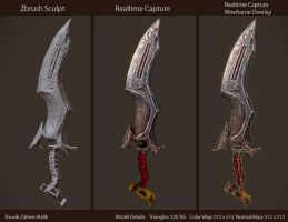 Fantasy Game Art - Weapon: Details by shoaibMalik