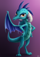 Princess Ember by LuminousDazzle