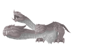 Warcraft: Albino Hydra by ToxicCreed