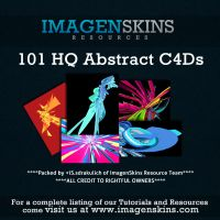 101 Assorted Abstract C4Ds by sdrakulich