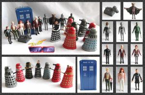 Doctor Who - Dapol Figures by mikedaws