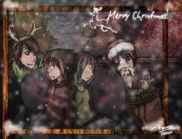 .-. Christmas Memories .-. by GhostCamelion