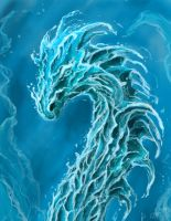 Aqua Dragon - Vatnsberinn by elicenia