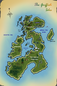 My Little Cartographer - The Griffish Isles by Mugen7