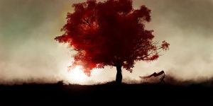 The Red Tree by The-fishy-one