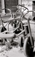Tricycles . by laurielouna