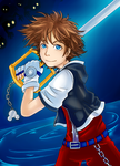 Kingdom Hearts 1 - Sora by Sarita-MyWorld