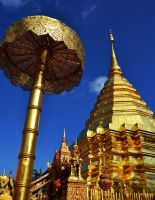 Wat Phra That Doi Suthep by Youjeen