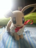 Cute Eevee plush I have :3 by Purpulear