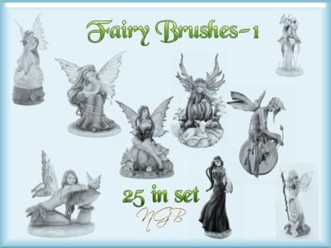 Fairy-1 Photoshop Brushes by NGB-Photoshop