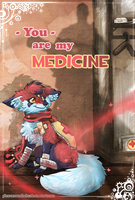 My MEDICine :: V-Day Card by Pharaonenfuchs