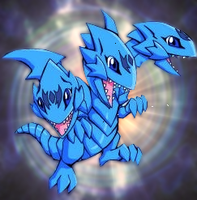 Blue Eyes Toon Ultimate Dragon by thomasrulez
