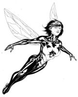 Janet Van Dyne aka The Wasp by SpiderGuile