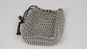 Stainless Steel Chainmaille Bag by McRobertsChainmaille