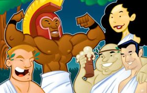 Toga Party by WarBrown