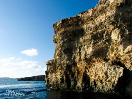 Cliffs Off Comino by Maltese-Naturalist