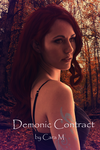 Demonic Contract mock book cover by 23keera
