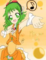 Sing with Gumi by Mikurun-song