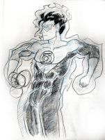 Green Lantern (Hal Jordan) sketch by fmvra1s