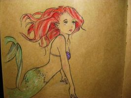 Ariel by Drawinful