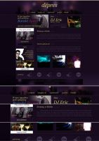 Depres - club site by Frozz