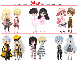 FREE Adoptables - Set 25 [CLOSED] by ReddAdopts