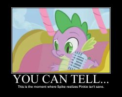 Spike Motivational by CrossoverPrincess