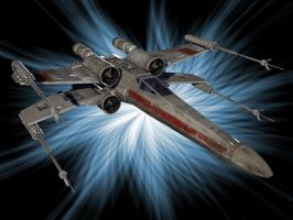 X Wing Wallpaper by sandig13