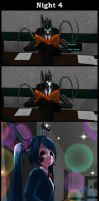 Five Nights With Slendy: Night 4 by MadNimrod