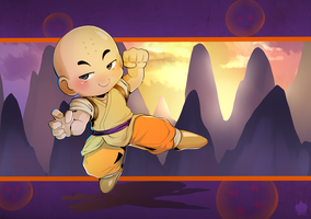 Comm: Krillin by chickenoverlord