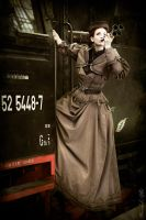 Travelling by train ... Steampunk at the WGT 2014 by S-T-A-R-gazer