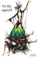 The Oil Monster by AOZcouture