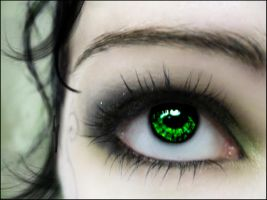 Green Eyed Monster by O-r-c-h-i-d-e-a