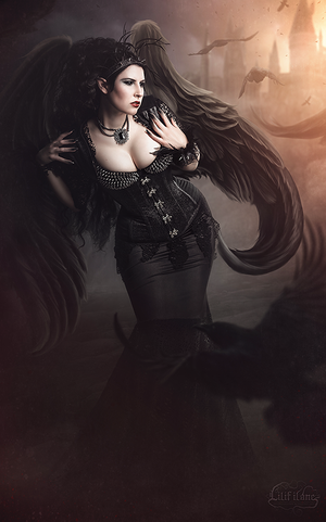 Crow demon by LilifIlane
