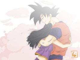 Goku and Chichi by CaiSamaX
