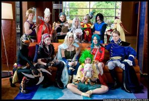 Final Fantasy VI cast by gerodere