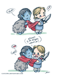 Thorki - WED by caycowa