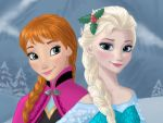 Anna and Elsa Close-up by AgiVega