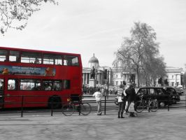 London Black and white by laurengee