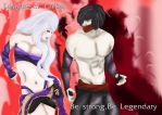 Syndra and Zed by lacima