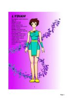 character profile: Lydiah by Burnchain