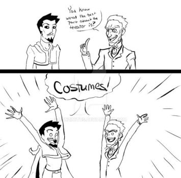 Costumes are the best by lynzinitus