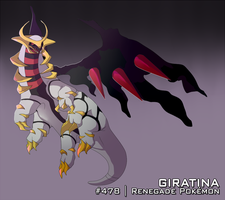 :DAY 25: Giratina by AkaPanuka