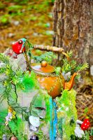 Tea Party Fairy Home by sioranth