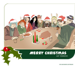 Secret Santa: Merry Christmas by Fayerin
