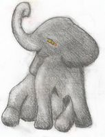Baby Elephant by LilleyPad