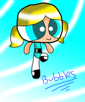 Bubbles -PPG (Photoshop CS5)  [Whit effects] by SpeedAtrsofPPG
