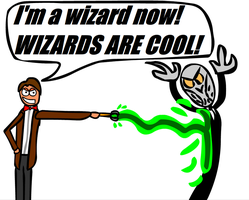 The Doctor is a WIZARD by Strobertat