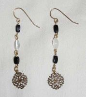 vintage charm earrings by PiratesGlory